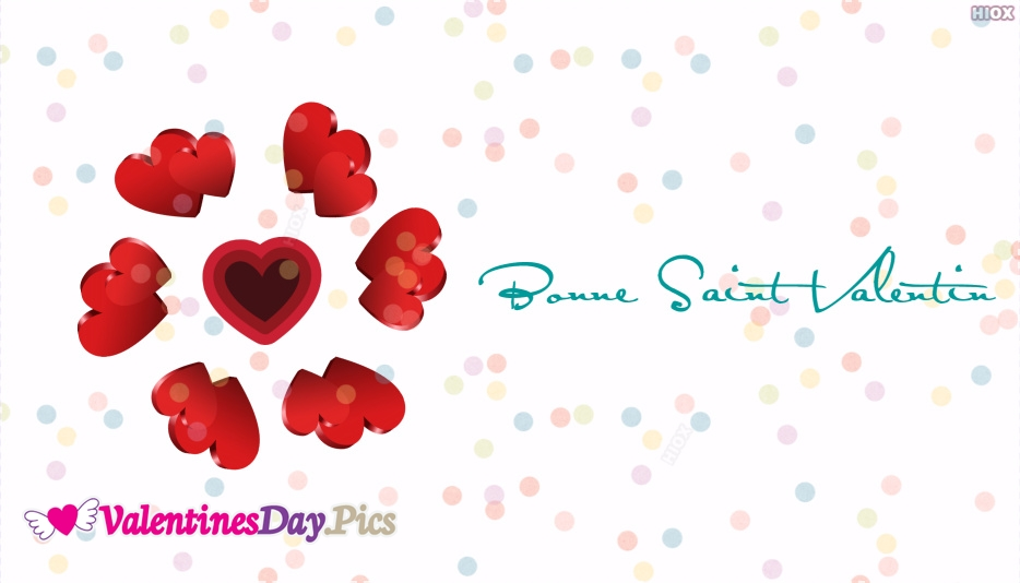 Bonne Saint Valentine | Happy Valentines Day In French