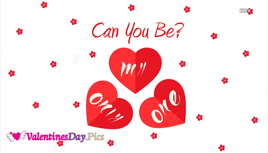 Can You Be My Only One