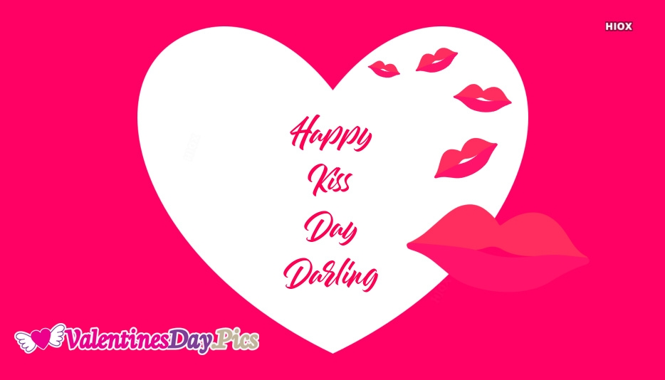 Happy Kiss Day Darling