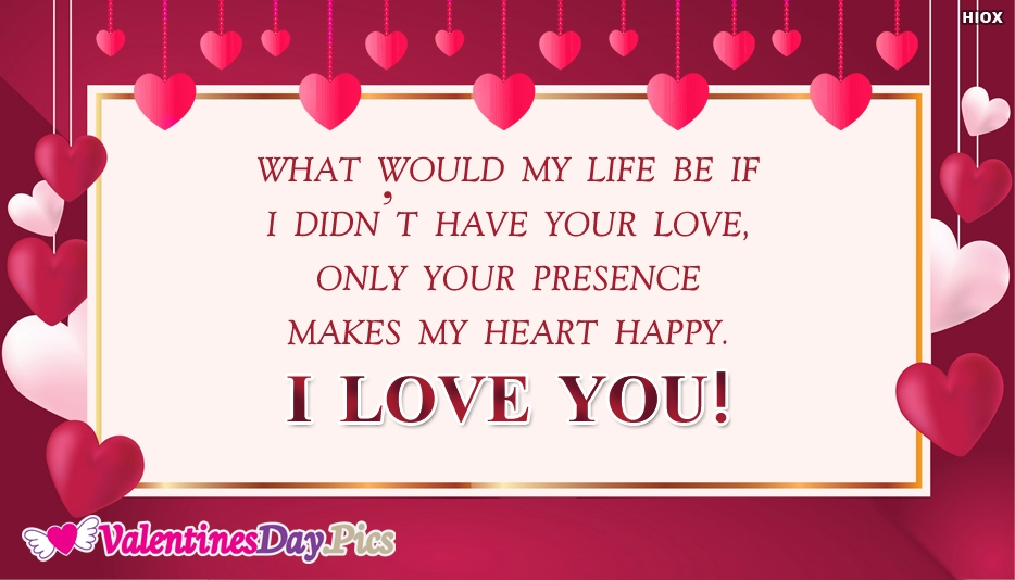 My Happy Valentine Day Quotes For You