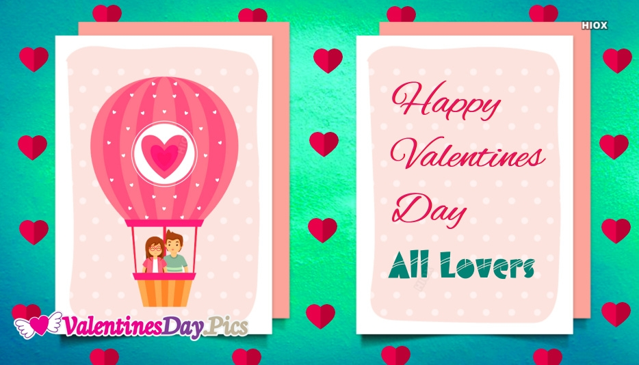 Happy Valentines Day All Lovers