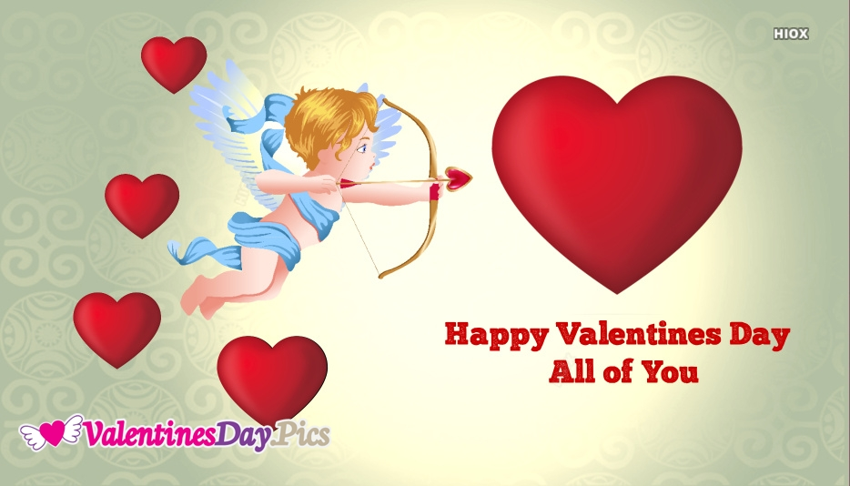 Happy Valentines Day All Of You