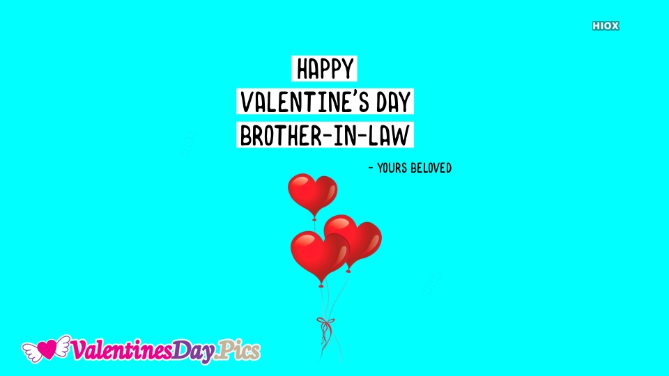 Happy Valentines Day Brother In Law Images