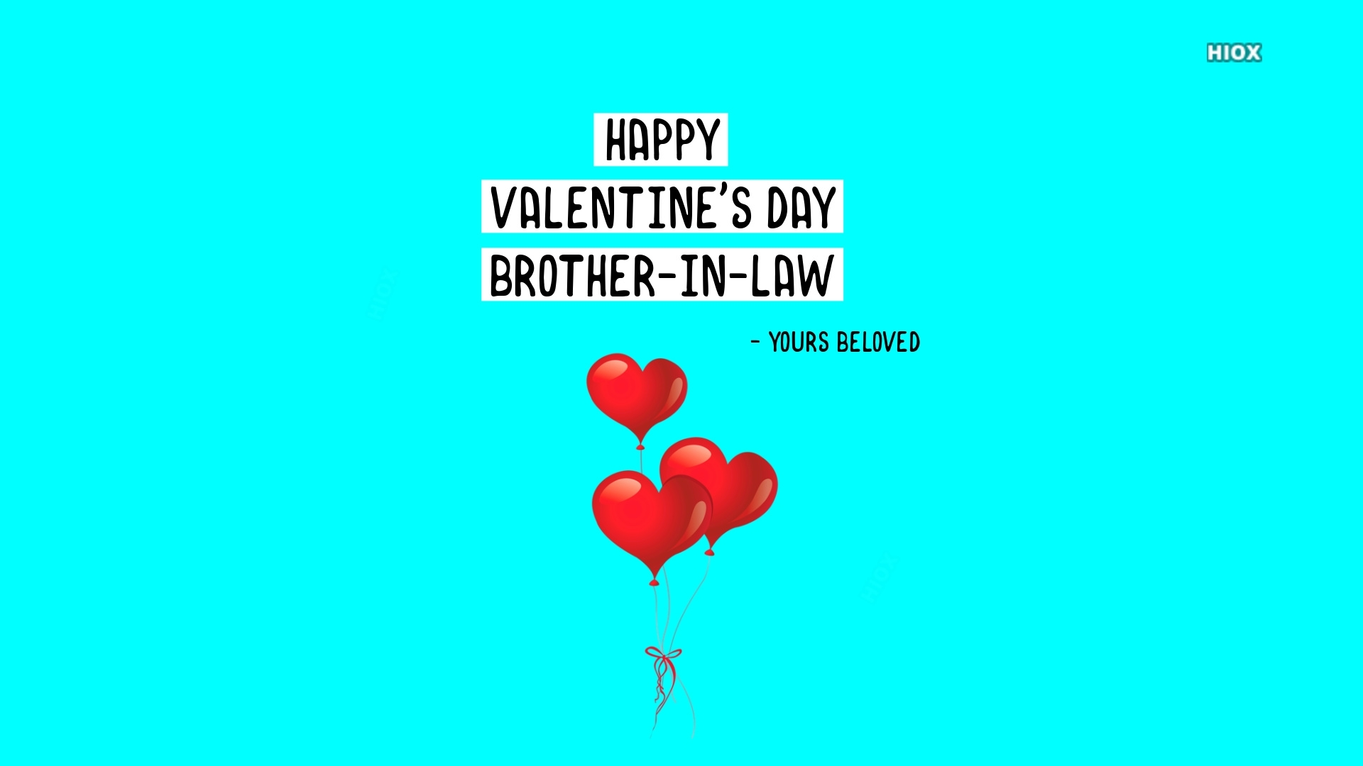 Happy Valentines Day Brother In Law