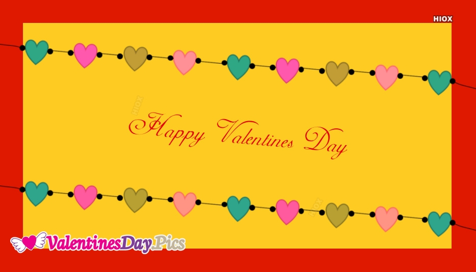 Happy Valentines Day Wallpaper with Quotes
