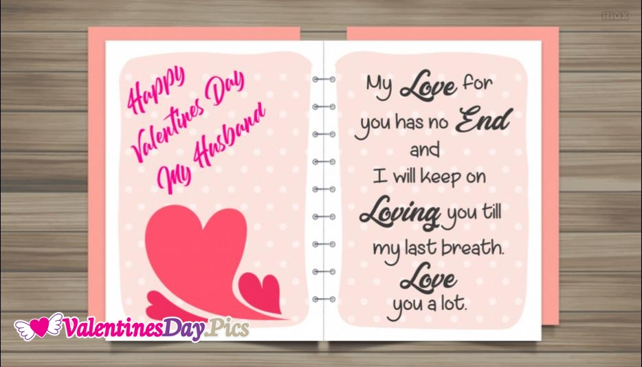 Happy Valentines Day My Husband Quotes
