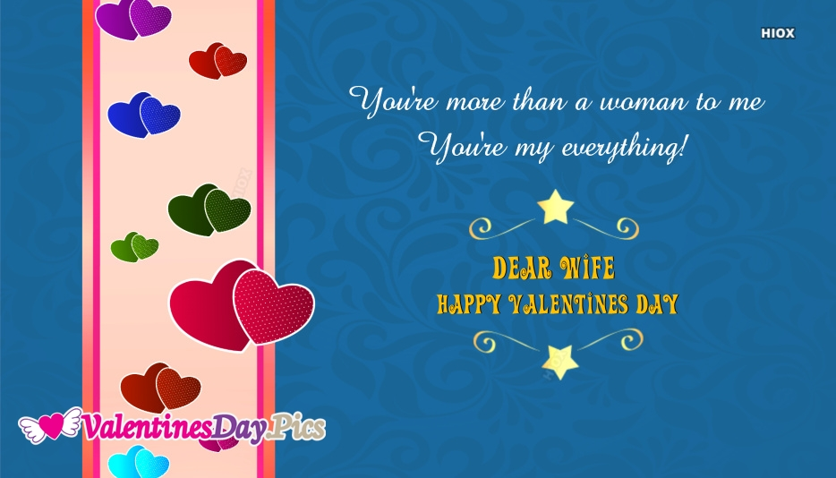 Happy Valentines Day Wife Quotes