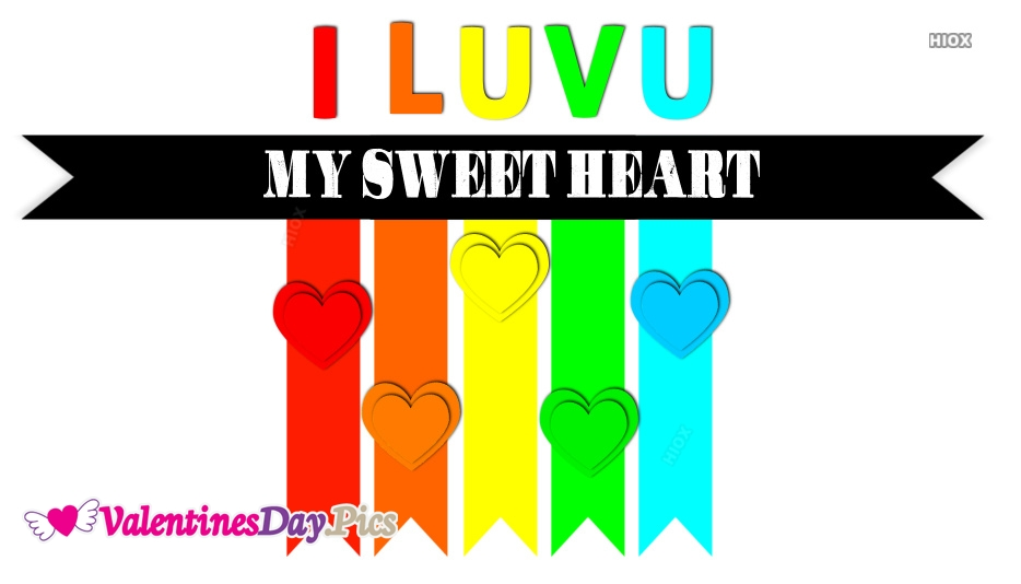 Colorful Valentines Day Images