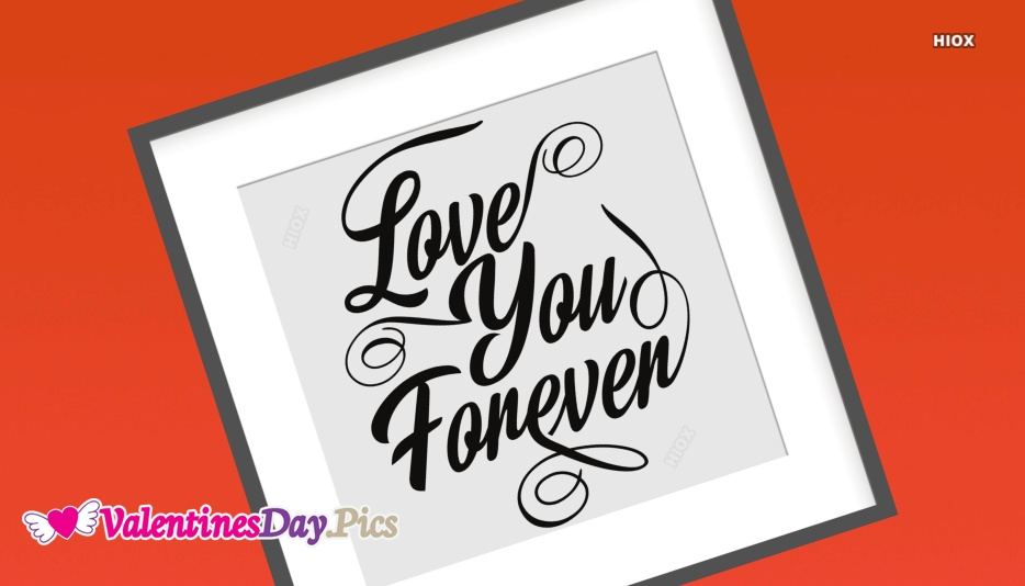 Love You Forever Photo