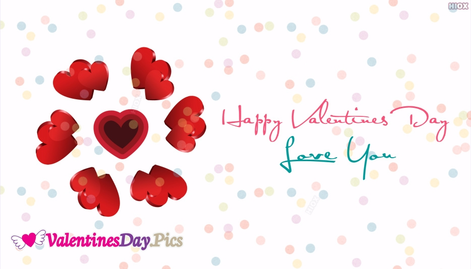Love You Happy Valentines Day