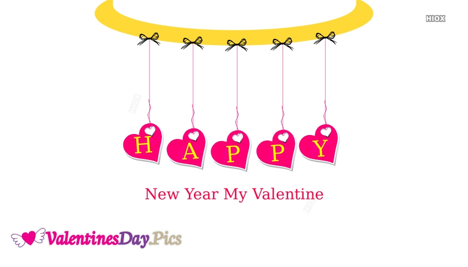 New Year Wishes For Valentine