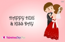 Happy Hug And Kiss Day Image