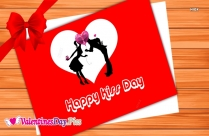 Happy Kiss Day Beautiful Wallpapers