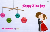 Happy Kiss Day For Love