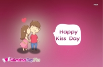 Happy Kiss Day For Lover