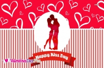 Happy Kiss Day Romantic Wallpaper