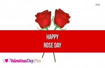 Happy Rose Day Advance