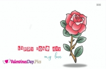Happy Rose Day For My Love