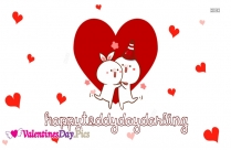 Happy Teddy Day Darling Image