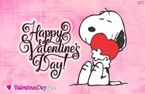 Happy Valentines Day Wishes with Cute Dog