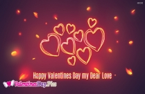 Happy Valentines Day My Love Message
