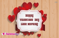 Happy Valentines Day Good Morning Image