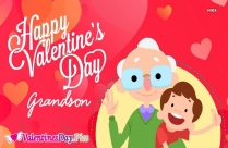 Happy Valentines Day To My Grandson Images