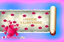 Happy Valentines Day In Frisian