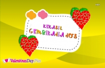 Happy Valentines Day In Malay