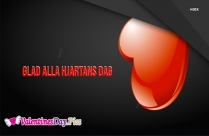 Happy Valentines Day In Swedish