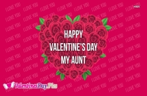 Happy Valentines Day Aunt Images