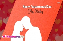 Happy Valentines Day My Baby Images