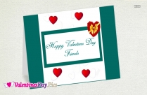 Happy Valentines Day My Facebook Friends Image