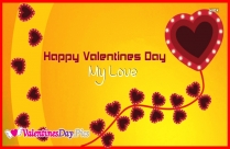 Happy Valentines Day To You My Love Image