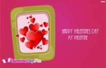 Happy Valentines Day My Dear Image