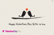 Happy Valentines Day Sister N Law