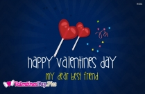 Happy Valentines Day For My Friends Image