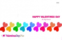 Happy Valentines Day My Lovely Friends Image