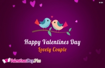 Happy Valentines Day To Lovely Couple