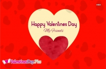 Happy Valentines Day Friends Quotes
