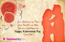 Happy Valentines Day My Husband