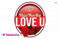 I Love You Happy Rose Day
