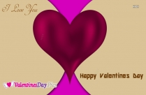 Wishing Happy Valentines Day Message