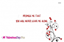 Valentines Day Promise Images, Messages