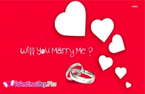Propose Day Will You Marry Me