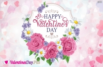Happy Valentines Day Beautiful Wishes