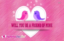 Happy Valentines Day To All Of My Friends Image