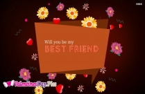 Will You Be My Best Friend Image