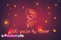 Will You Be My Forever Image