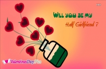 Will You Be My Half Girlfriend Image